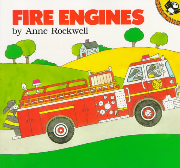 Fire Engines By Rockwell, Anne F.